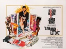 Live And Let Die - British Movie Poster (xs thumbnail)