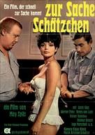 Zur Sache, Schätzchen - German Movie Poster (xs thumbnail)