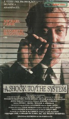 A Shock to the System - Brazilian VHS movie cover (xs thumbnail)