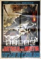 Bitka na Neretvi - Italian Movie Poster (xs thumbnail)