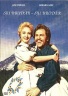 Seven Brides for Seven Brothers - Swedish Movie Cover (xs thumbnail)