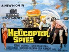 The Helicopter Spies - British Movie Poster (xs thumbnail)