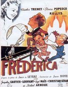 Frèdèrica - French Movie Poster (xs thumbnail)