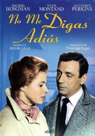 Goodbye Again - Spanish DVD movie cover (xs thumbnail)