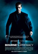 The Bourne Supremacy - Italian Movie Poster (xs thumbnail)
