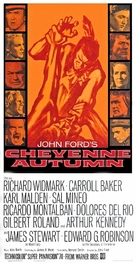 Cheyenne Autumn - Theatrical movie poster (xs thumbnail)