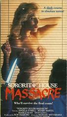 Sorority House Massacre - VHS movie cover (xs thumbnail)