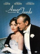 Love in the Afternoon - Brazilian DVD movie cover (xs thumbnail)