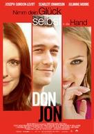 Don Jon - German Movie Poster (xs thumbnail)