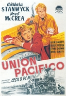Union Pacific - Spanish Movie Poster (xs thumbnail)
