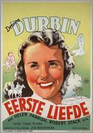 First Love - Dutch Movie Poster (xs thumbnail)