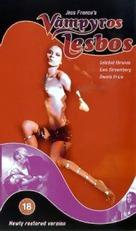 Vampiros lesbos - British VHS cover (xs thumbnail)