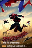 Spider-Man: Into the Spider-Verse - Australian Movie Poster (xs thumbnail)