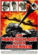 Battle of the Bulge - German Movie Poster (xs thumbnail)