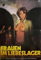 Frauen im Liebeslager - German Movie Poster (xs thumbnail)