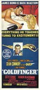 Goldfinger - Australian Movie Poster (xs thumbnail)