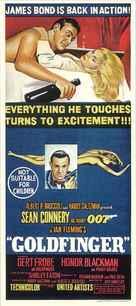 Goldfinger - Australian Movie Poster (xs thumbnail)