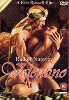 Valentino - British DVD cover (xs thumbnail)
