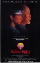 The Karate Kid, Part II - Advance movie poster (xs thumbnail)