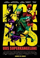 Kick-Ass - Estonian Movie Poster (xs thumbnail)