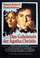 Agatha - German Movie Poster (xs thumbnail)