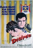 Desirée - Swedish Movie Poster (xs thumbnail)