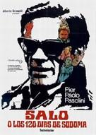 Salò o le 120 giornate di Sodoma - Spanish Theatrical poster (xs thumbnail)