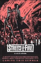 Streets of Fire - Advance movie poster (xs thumbnail)