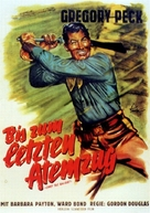 Only the Valiant - German Movie Poster (xs thumbnail)