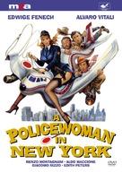 La poliziotta a New York - DVD movie cover (xs thumbnail)
