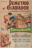 Demetrius and the Gladiators - Argentinian Movie Poster (xs thumbnail)