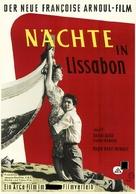 Les amants du Tage - German Movie Poster (xs thumbnail)