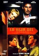Desert Fury - Spanish DVD cover (xs thumbnail)