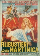 Marie des Isles - Italian Movie Poster (xs thumbnail)