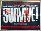 Survive - British Movie Poster (xs thumbnail)