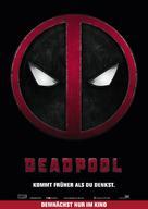 Deadpool - Danish Movie Poster (xs thumbnail)