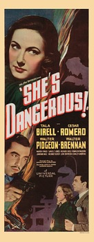 She's Dangerous - Movie Poster (xs thumbnail)
