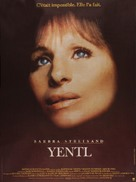 Yentl - French Movie Poster (xs thumbnail)