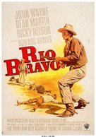 Rio Bravo - German Movie Poster (xs thumbnail)