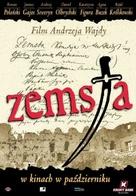 Zemsta - Polish Movie Poster (xs thumbnail)
