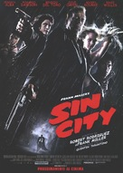 Sin City - Italian Movie Poster (xs thumbnail)