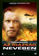 Collateral Damage - Hungarian Movie Cover (xs thumbnail)