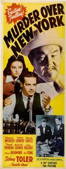 Murder Over New York - Movie Poster (xs thumbnail)