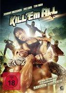 Kill 'em All - German DVD movie cover (xs thumbnail)