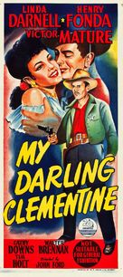 My Darling Clementine - Australian Movie Poster (xs thumbnail)