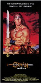 Conan The Destroyer - Australian Movie Poster (xs thumbnail)