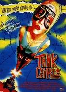 Tank Girl - French VHS cover (xs thumbnail)