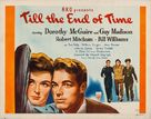 Till the End of Time - Movie Poster (xs thumbnail)