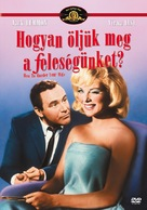 How to Murder Your Wife - Hungarian DVD cover (xs thumbnail)