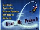 Dear Mr. Prohack - British Movie Poster (xs thumbnail)